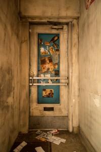Font door of the old Chez Pierre Cabaret